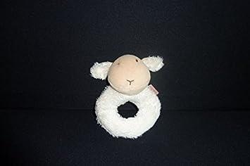 Doudou Mouton Agneau Hochet Natalys 1730158 Amazon Fr