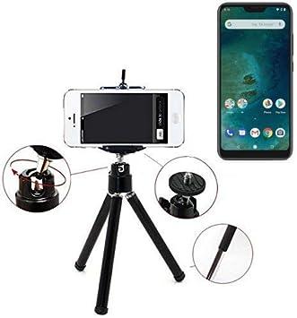 K-S-Trade Smartphone Trípode/Soporte Móvil/Trípode como Compatible con Xiaomi Mi A2 Lite. Trípode De Aluminio/Trípode con Soporte para El Teléfono Móvil, Universal para Todos Los Teléfonos: Amazon.es: Electrónica