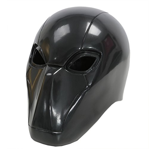 [Red Mask Hood Helmet PVC Halloween Party Black Masquerade for Sale] (Masquerade Dresses For Sale)