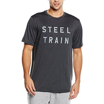 22ae5a35 Nike Men's Legend 2.0 Steel Train Short Sleeve Top, Anthracite/Cool Grey,  Small