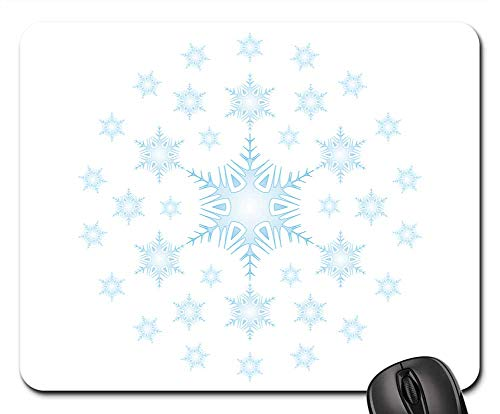 Mouse Pads - Stars Snow The Background Asterisk Snow White Star