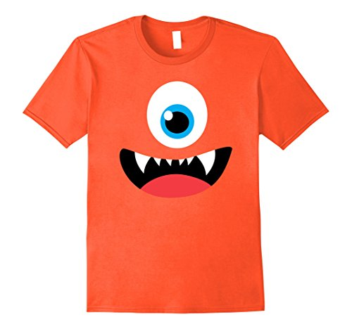 Mens Funny Scary Monster Costume Halloween Shirt for Kids Adults 2XL (5 Last Minute Halloween Costumes Men)