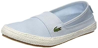 Lacoste Marice 218 1 Caw, Zapatillas para Mujer, Azul (Lt BLU 52c)