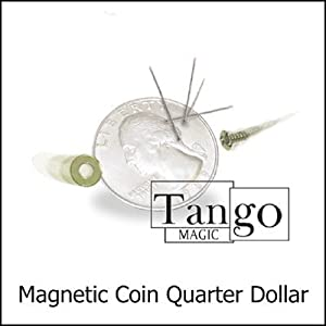 Magnetic Coin (Quarter Dollar) by Tango - Trick
