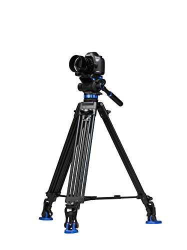 Benro S7 Twin Leg Aluminum Video Tripod Kit