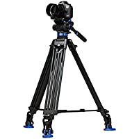 Benro S7 Twin Leg Aluminum Video Tripod Kit (A573TBS7)