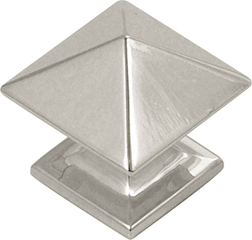 - Hickory Hardware P3014-OBH Studio Collection 1 Inch Long Square Shaped Cabinet Knob, Oil Rubbed Bronze Finish