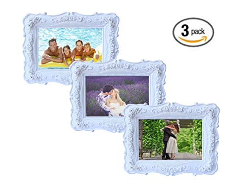 Floral Picture Frame (Olivery Victorian Inspired Flower Photo Frame - 4