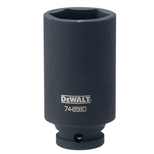 DEWALT DWMT74658OSP 6 Point 1/2'' Drive Deep Impact Socket 1-1/4'' SAE by DEWALT
