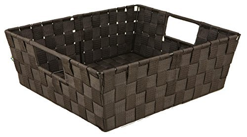 Simplify Storage Basket, Large, Chocolate ()