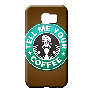 samsung galaxy s6 edge Extreme Slim Fit Hot New phone cover case starbucks famous top?brand logo