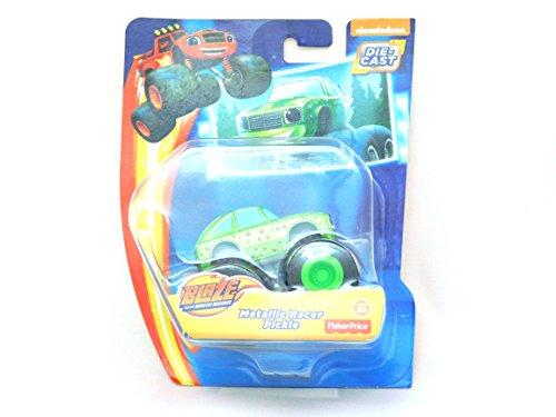 Metallic Racer Pickle Die-Cast Nickelodeon Blaze and the Monster Machines