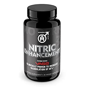 Nitric Oxide Enhancement by Modern Man – Pump Enhancing Alpha Male Booster for Men - Yohimbine HCL, Maca Root | Increase Strength, Size & Stamina | Muscle Gain Supplement - 30 Pills natural male enhancing - 41xdO gM63L - natural male enhancing