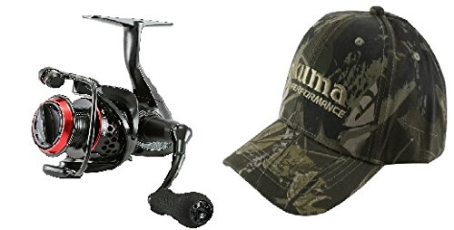 Okuma Ceymar Lightweight Spinning Reel- C-55 comes with Okuma Hat