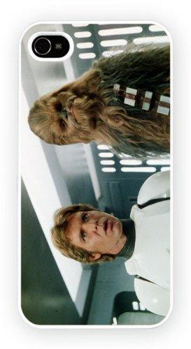 Star Wars: Episode IV - A New Hope - Han Chewbacca, iPhone 4 4S, Etui de téléphone mobile - encre brillant impression