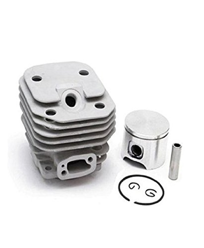 Parts Club 48mm Cylinder Piston Rebuild Assembly Kit for Husqvarna 61 Chainsaws