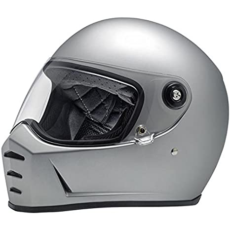 Casco Helmet integral Biltwell Lane divisor approvazione Dot y homologado ECE Europa Italia Plata Mate Flat
