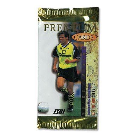95-96 de la Bundesliga cartas coleccionables