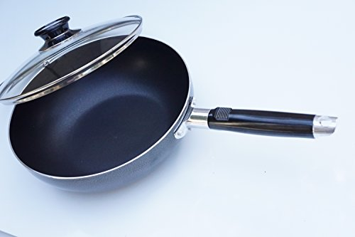 8 inch fry pan with lid - 5