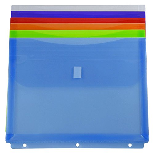 JAM PAPER Plastic Binder Envelopes product image