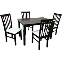 Camden Isle 152841 Fairfax 5 Piece Dining Set in Cappuccino