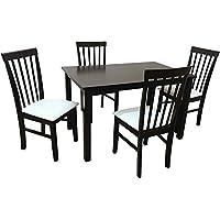 Camden Isle 152841 Fairfax 5 Piece Dining Set in Cappuccino