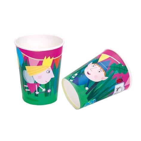 Ben y Holly - Vasos para Fiestas (8 Paquetes) diseño: Amazon ...
