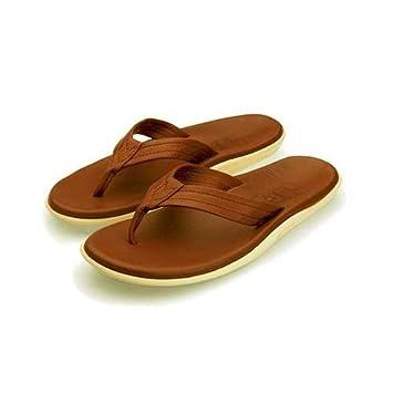 9b58f3793 Amazon.com   Island Pro Hawaii Classic Leather Sandals   Shoes