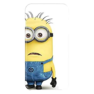 Loud Universe Apple iPhone 6 Plus 3D Wrap Around Minion Bob Standing Print Cover - White/Yellow