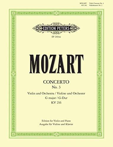 Mozart: Violin Concerto No. 3 in G Major, K 216
