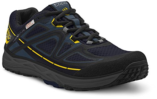(Topo Athletic Hydroventure Running Shoe - Men's Navy/Black 8.5)
