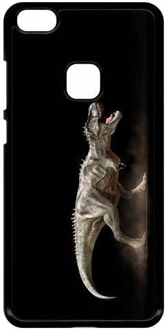 Coque huawei p10 lite dinosaure t rex black: Amazon.fr: High-tech