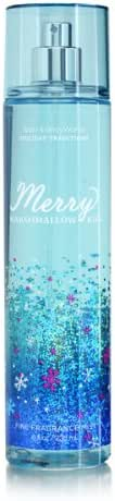 Bath Body Works Merry Marshmallow Kiss 8.0 oz Fine Fragrance Mist