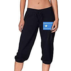 North Korean Somali Union Summer Women S Cropped Trousers Casual Pants Jogger Sweatpants