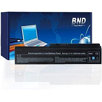 BND Laptop Battery for Toshiba PA3817U-1BRS PA3819U-1BRS Toshiba Satellite L600 L675 L675D L700 L745 L750 L750D L755 L755D M640 M645 P745 Series - 12 Months ...