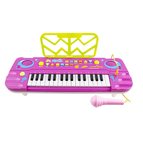 Discover Bargain Piano for Kids,aPerfectLife 32 Keys Kids Piano Multi-function Electronic Keyboard E...