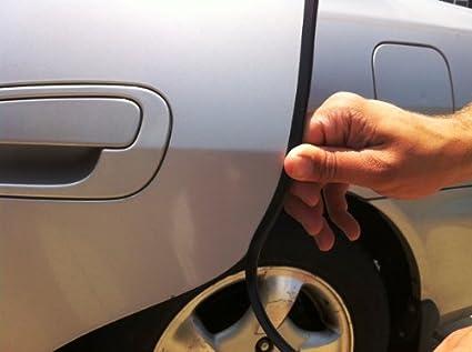 Car Black Door Edge Trim Guard Molding All Models D.I.Y. Kit