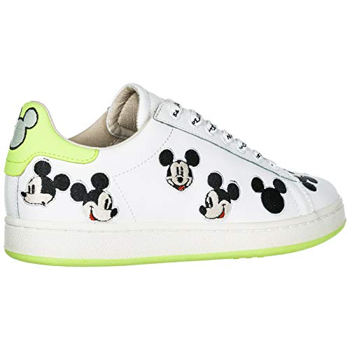 Zapatillas Master Mujer Green Of White green Mouse Moa Disney Deportivas White Arts Mickey YdSS7xW