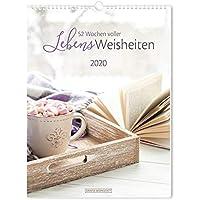 """Wochenkalender 2020 """"LebensWeisheiten"""": Wochenkalender groß"""