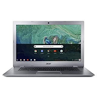 "Acer Chromebook 15 CB315-1HT-C4RY, Intel Celeron N3350, 15.6"" Full HD Touch Display, 4GB LPDDR4, 32GB eMMC, 802.11ac WiFi, Bluetooth 4.2, Google Chrome"