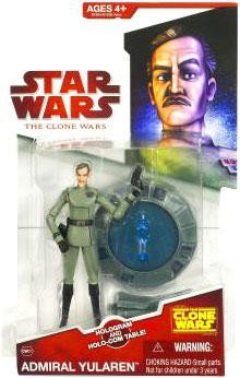 Hasbro Star Wars Clone Wars Animated Action Figure Admiral ()