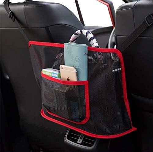 WonVon Car Net Pocket Handbag Holder,Large Capacity Car Seat Storage Net Bag,Net Mesh Organizer Storage Pouch Pocket for Purse Storage Phone Documents Pocket