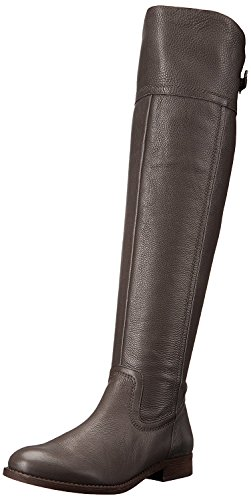 Franco Sarto Women's Hydie Riding Boot, Grey, 10 M US by Franco Sarto