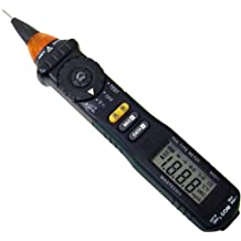 Tekpower MS8211 Pen-Type Auto-Ranging Digital Multimeter with Non-contact AC Voltage Detector, Mastech MS8211¡