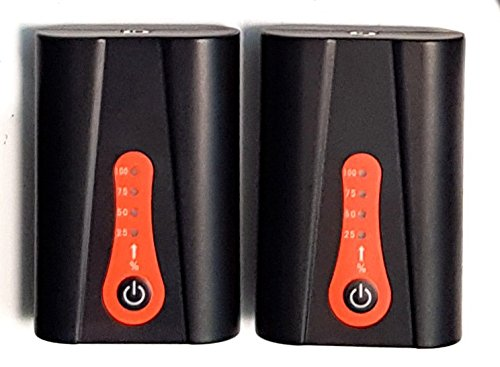 Suela 2 x Bater/ía 2200 Mah Para Thermrup