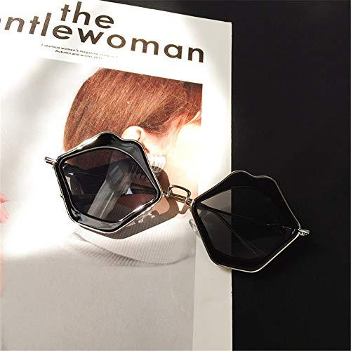 Lunettes soleil NIFG Personnalité de polarisées Lips soleil Lunettes de Fashion Lunettes XU4Uqw1