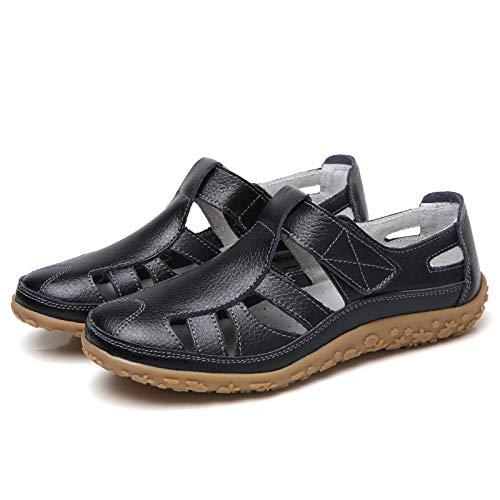 Eu The couleur Qiusa Slip Loop Plates 42 Confortable Noir Loafers Taille Grandes Noir Chaussures Tailles RCCWq7wd