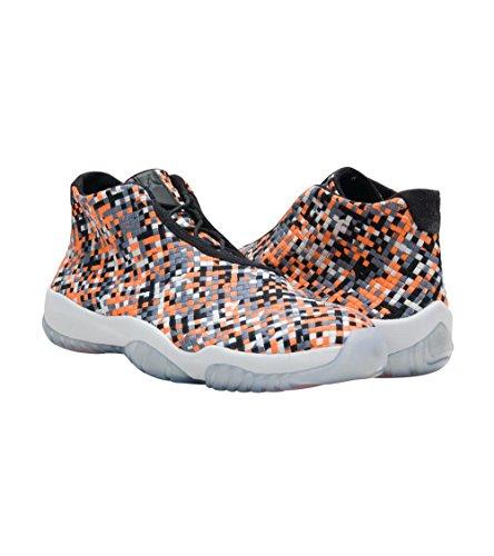 Nike Air Jordan Future Premium - Blk/Cl Gry-Pr Pltnm-Hypr Crmson 8 UK