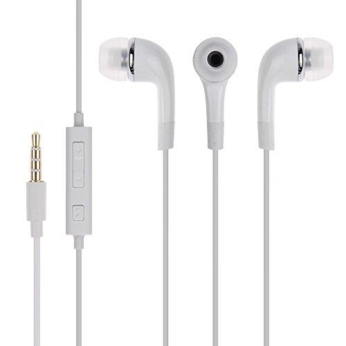 ShopsGeniune In Ear Headphones With Mic  White