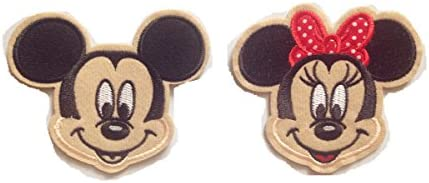 CUTE! style#2 Disney Mickey Mouse  Fabric Iron On Appliqués
